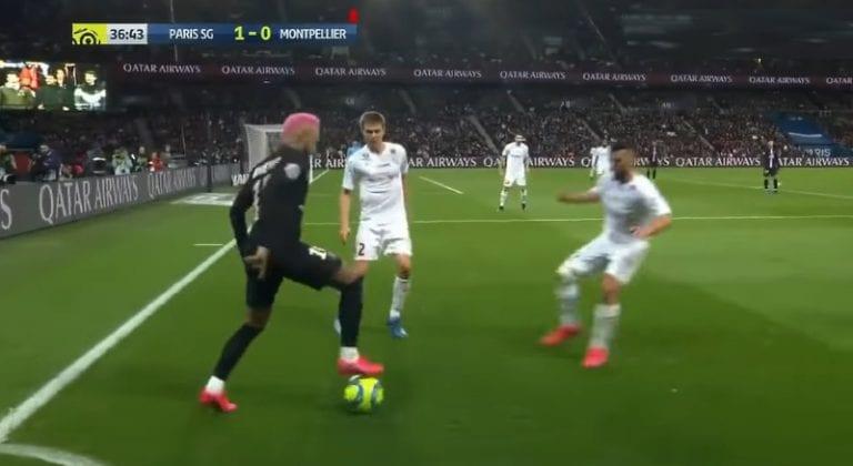 Klassikkovideo: Neymar kikkaili näyttävästi – tuomari käski lopettamaan ja antoi lopulta keltaisen kortin