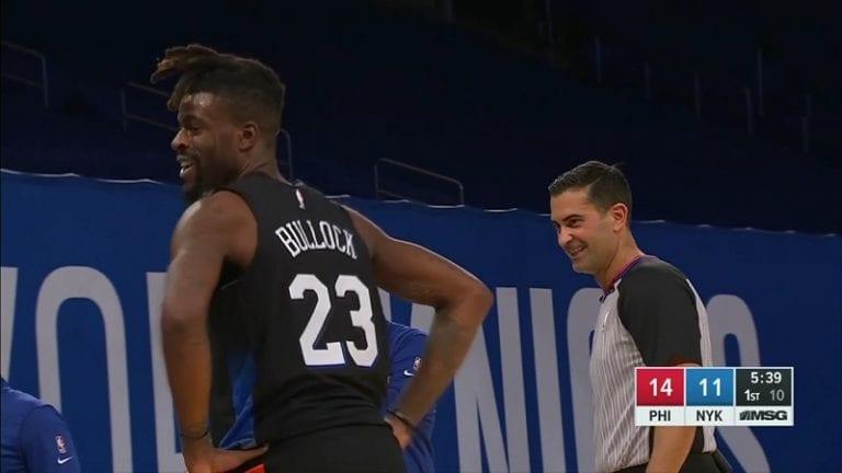 Video: NY Knicksin huoltajille kävi koominen kämmi – kentällä viiletti kaksi pelaajaa numerolla 23