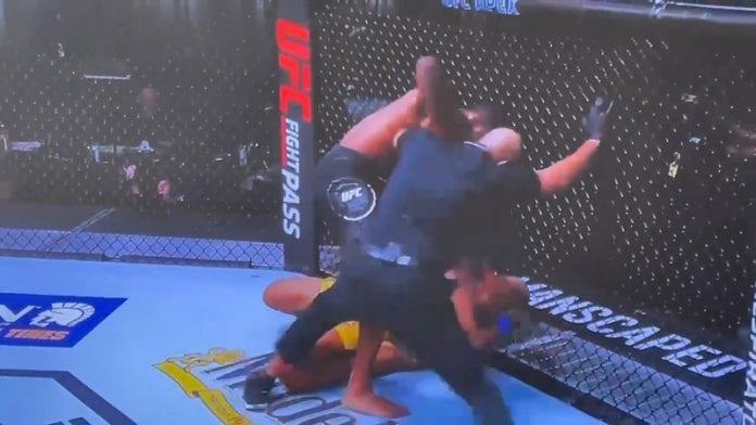 Kevin Holland UFC 256 / Pallomeri.net