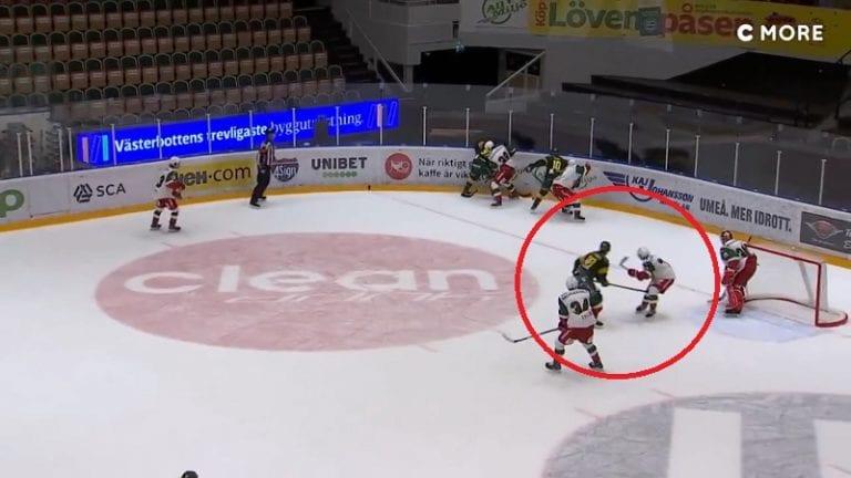 Video: Björklöven-hyökkääjä otti typerän ulosajon Allsvenskanissa – ottelu päätyi myös sopupelitutkintaan