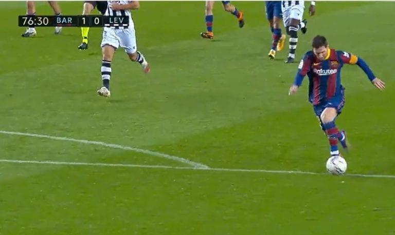 Video: Leo Messi ampui komean voittomaalin Barcelonalle