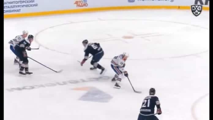 Vladimir Tkachyov SKA vs Vladislav Syomin Magnitogorsk KHL / Pallomeri.net