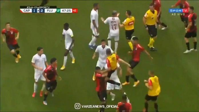 Brasilian U17-finaali Fluminense-Athletico Paranaense / Pallomeri.net