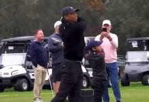 Tiger Woods & Charlie Woods / Pallomeri.net