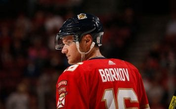 Leijonat NHL-pelaajat Florida Panthers Aleksander Barkov