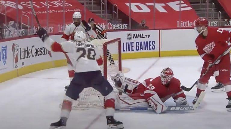 Video: Aleksi Heponiemi teki mahtavan NHL-debyytin – ratkaisi voiton jatkoajalla