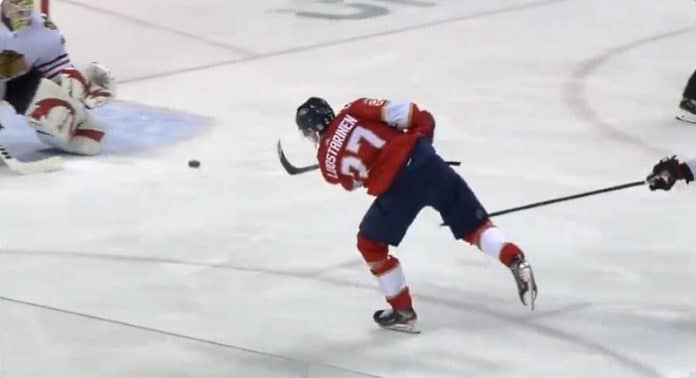 Eetu Luostarinen NHL Florida Panthers - pallomeri.net