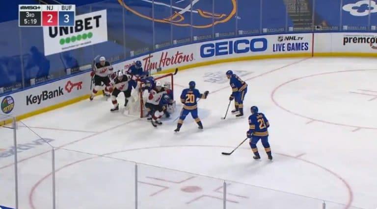 Video: New Jerseyn Janne Kuokkanen iski NHL-uransa avausmaalin