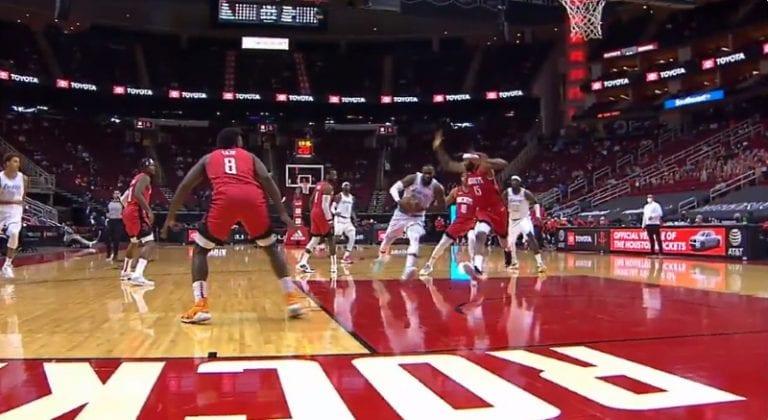 Video: LeBron James sai kovan iskun päähän – DeMarcus Cousins tilanteesta suihkuun