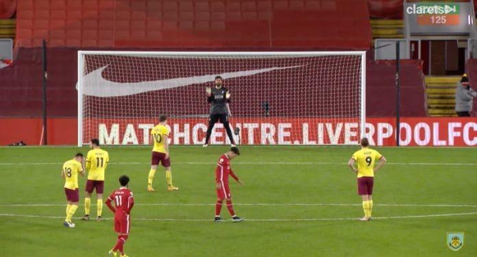 Liverpool tappio Burnley valioliiga - pallomeri.net