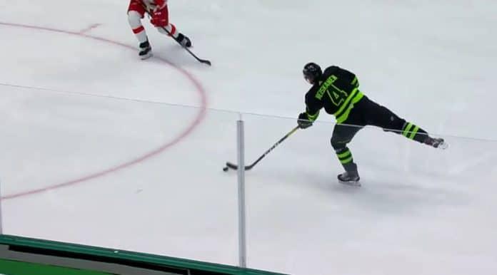Miro Heiskanen syöttö Dallas Stars NHL - pallomeri.net