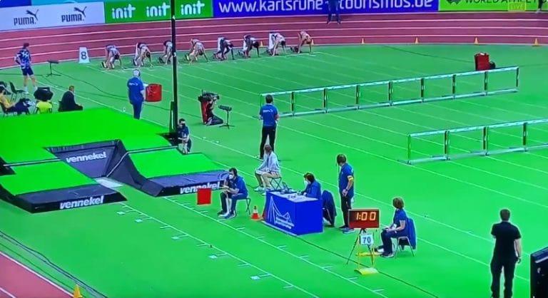 Video: Nooralotta Neziri huippuiskussa – tykitti 60 metrin aitojen SE:n
