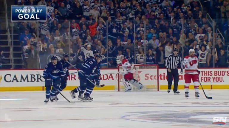 Klassikkovideo: Patrik Laine iski NHL-uransa avausmaalin ensimmäisessä ottelussaan