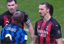 Romelu Lukaku Zlatan Ibrahimovic inter milan - pallomeri.net