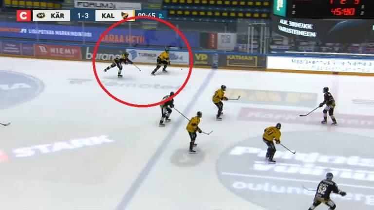 """Video: Juhamatti Aaltosen löysä takakarvaus huvittaa somessa – """"Katsokaa, hän antoi kaikkensa"""""""