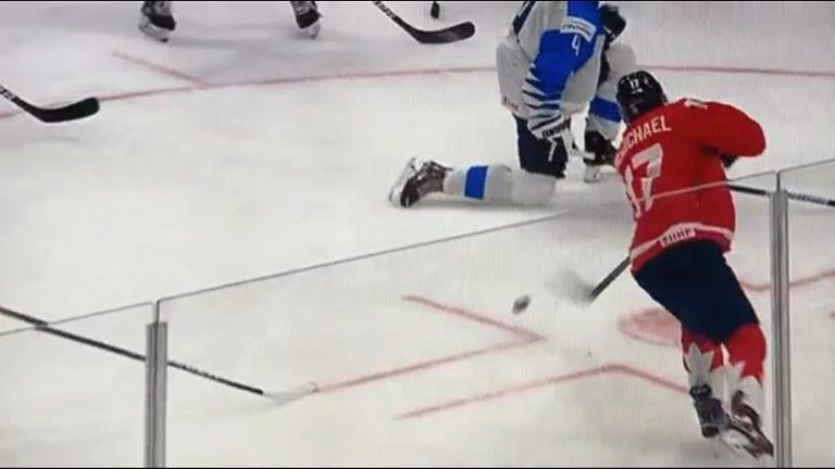 Video: Ville Heinola loukkaantui Nuorten Leijonien Kanada-tappiossa – vamma pelättyä lievempi?