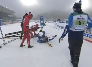 hiihdon Aleksandr Bolshunov
