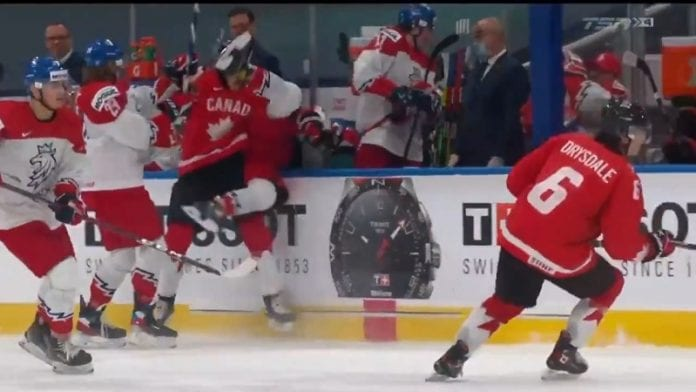 Peyton Krebs Kanada U20 / Pallomeri.net