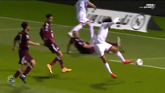 Fabio Martins Al-Shabab / Pallomeri.net