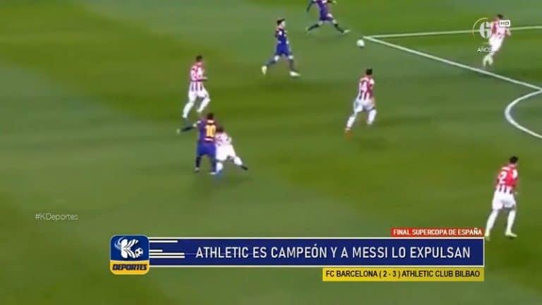 Video: Lionel Messi turhautui ja jysäytti vastustajaa päähän – sai seurajoukkueuransa ensimmäisen suoran punaisen