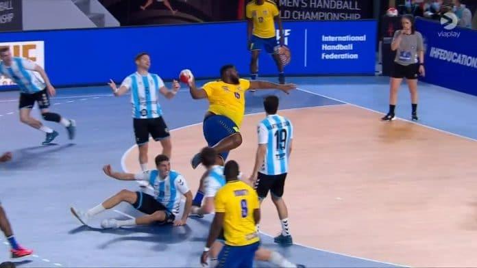 Thierry Mvumbi Kongon käsipallomaajoukkue / Pallomeri.net