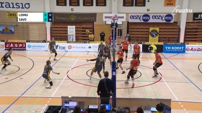 Lelu Ojansivu Savo-Volley / Pallomeri.net