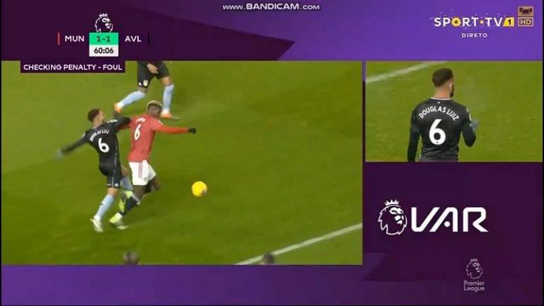 Video: ManU:n voittomaali kyseenalaistettiin laajalti – kaatoiko Paul Pogba itsensä?