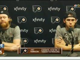 Jakub Voracek Philadelphia Flyers / Pallomeri.net
