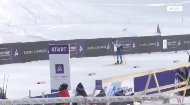 Video: Huikeaa! Alexander Ståhlberg nappasi hopeaa nuorten MM-hiihdoissa