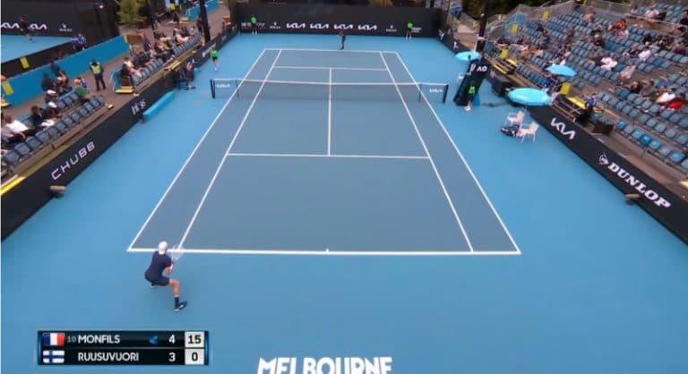 Emil Ruusuvuoren Australian Open alkoi huimalla tavalla – kaatoi 10. sijoitetun Gael Monfilsin