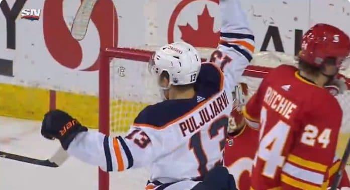 Jesse Puljujärvi NHL Edmonton Oilers - pallomeri.net