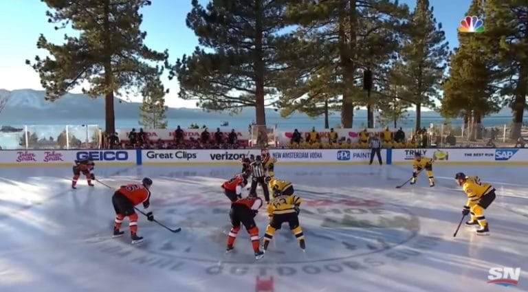 Video: Boston osui kolme kertaa 99 sekuntiin Lake Tahoen ulkoilmaottelussa