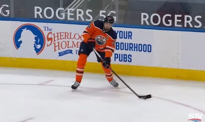 Leon Draisaitl Edmonton Oilers - pallomeri.net