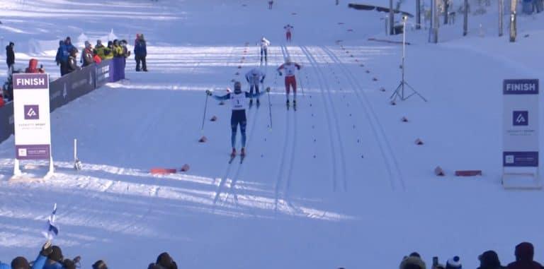 Video: Fantastista! Niilo Moilanen voitti kultaa hiihdon nuorten MM-kisoissa!