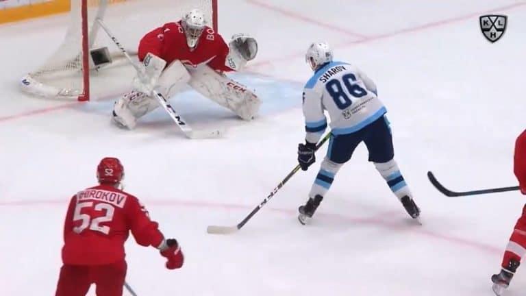 Video: Jäätävä jatkoaikamaali KHL:ssä – Sibir-hyökkääjä kahvitti pakit ja kajautti kiekon kattoon