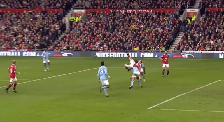 Klassikkovideo: Wayne Rooneyn unelmamaali Cityä vastaan – osumasta tänään tasan 10 vuotta