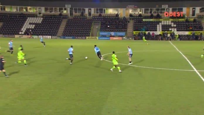 Nathan Ferguson Southend United / Pallomeri.net