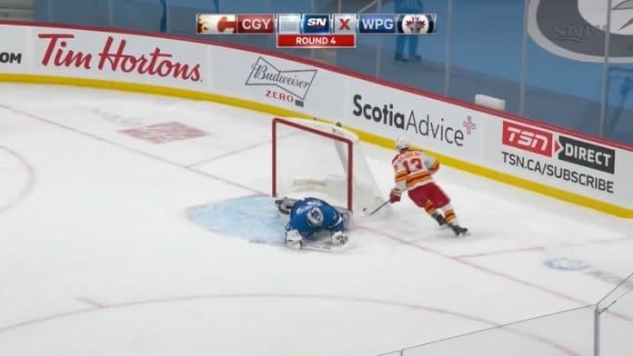 Johnny Gaudreau Calgary Flames / Pallomeri.net
