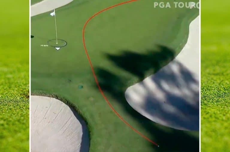 Video: PGA Tourilla hurjat olosuhteet – Keegan Bradley puttasi 12 metriä ohi