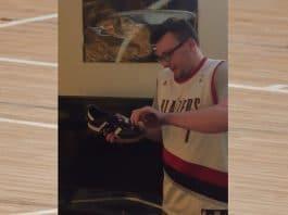 Portland Trail Blazers -fani Peter Reed / Pallomeri.net