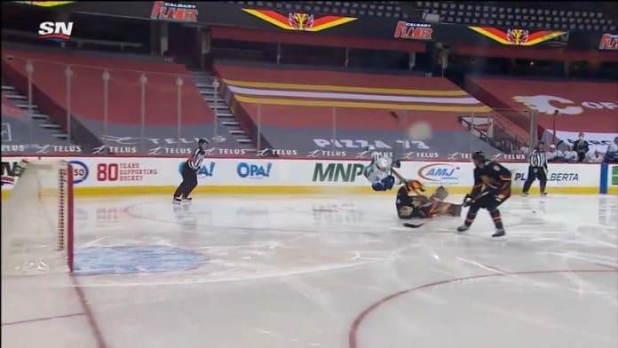 Jacob Markström Calgary Flames / Pallomeri.net