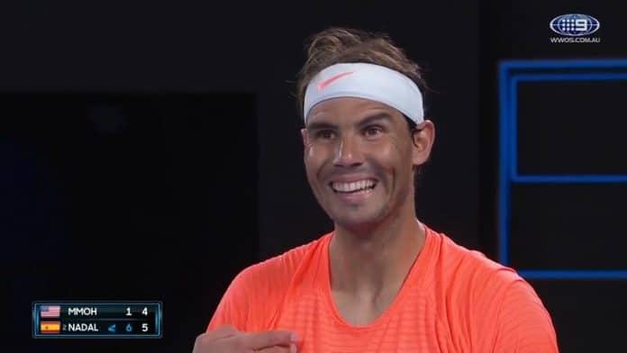 Rafael Nadal Australian avoimet 2021 / Pallomeri.net