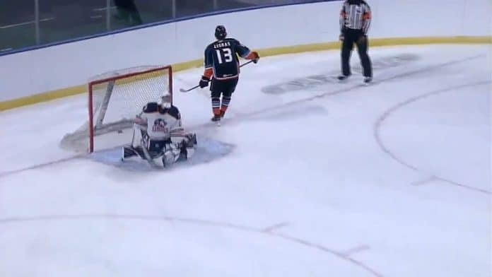 Trevor Zegras Anaheim Ducks (San Diego Gulls) / Pallomeri.net