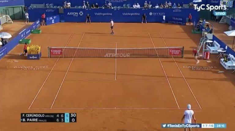 Video: Ranskalainen tennispelaaja sai nolon hepulin ATP-turnauksessa – syljeskeli, kiroili ja hävisi tahallaan syöttövuoronsa