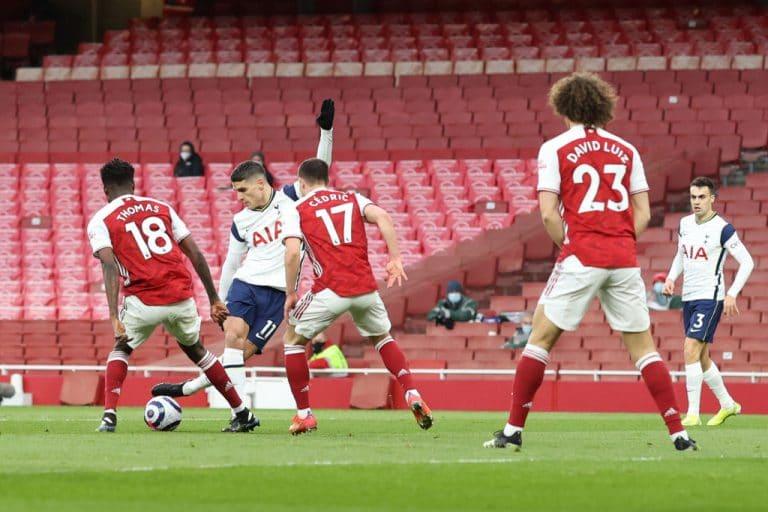 Video: Erik Lamela painoi hävyttömän rabona-maalin Arsenalin verkkoon