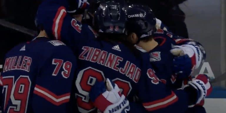 Video: New York Rangers nappasi sensaatiomaisen murskavoiton – Mika Zibanejad teki yhteen erään tehot 3+3