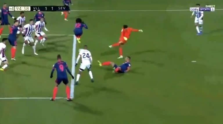 Video: Uskomatonta! Sevilla-veskari iski tasoitusmaalin La Ligassa