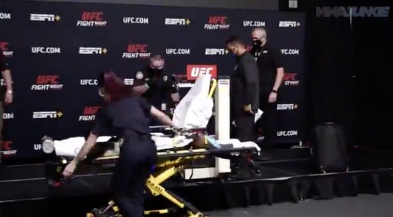 Video: UFC-ottelijan punnitus päättyi dramaattiseen pyörtymiseen – ottelu peruutettiin