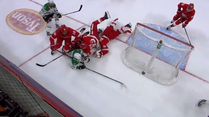 Jonathan Bernier Detroit Red Wings / Pallomeri.net