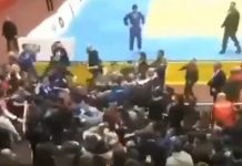 Judoturnaus tappelu Dagestan / Pallomeri.net